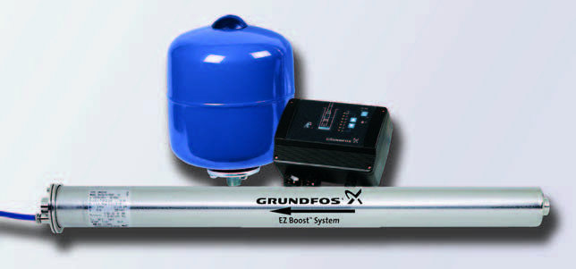 New Smaller and More Efficient Constant Water Pressure System