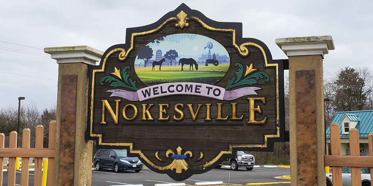 Nokesville Virginia Sign